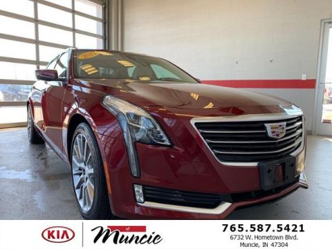 2017 Cadillac CT6 4dr Sdn 3.6L Luxury AWD